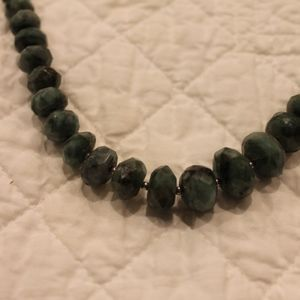 Jewelry - Sterling Silver Emerald necklace